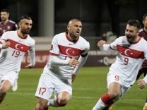 World Cup - UEFA Qualifiers - Group G - Latvia v Turkey