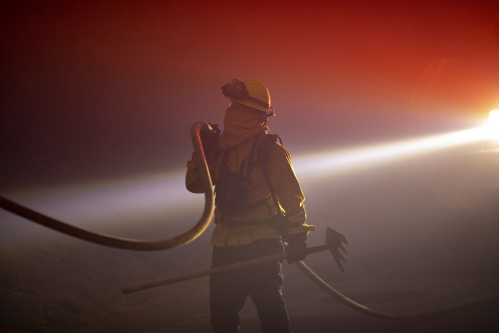 Alisal Fire Near Santa Barbara Forces Evacuations