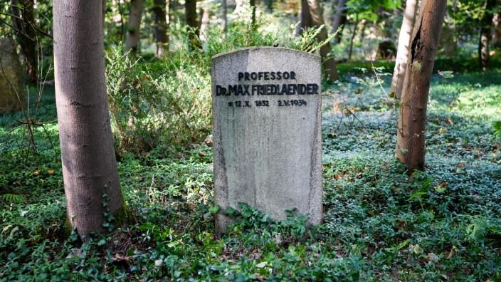 Südwestkirchhof Stahnsdorf - Grab von Max Friedlaender