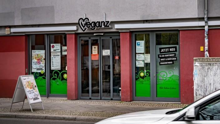 Berlin Pankow OT Prenzlauer Berg; Veganer Supermarkt VEGANZ, Veganer, vegan Berlin *** Berlin Pankow OT Prenzlauer Berg