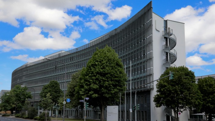 01.07.2020, Frankfurt, DEU Verwaltungsgebaeude der Bafin, der Bundesanstalt fuer Finanzdienstleistungsaufsicht, in Fran