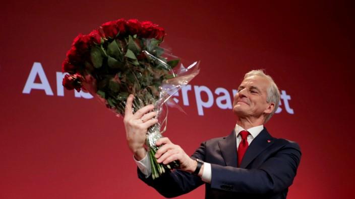 FILE PHOTO: 2021 Norwegian parliamentary election