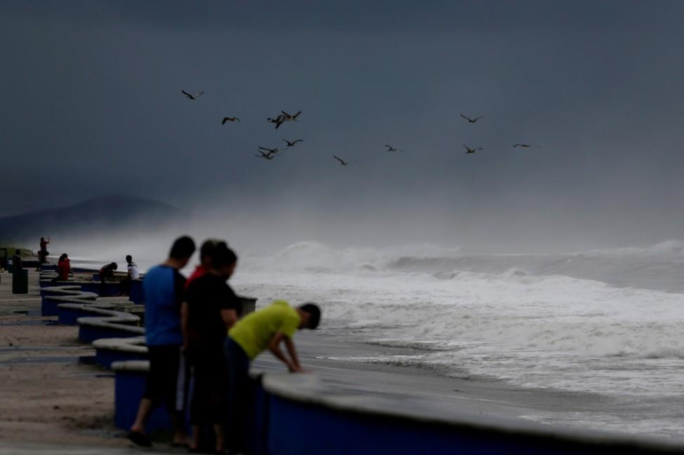 Hurricane Pamela makes landfall in Ceuta
