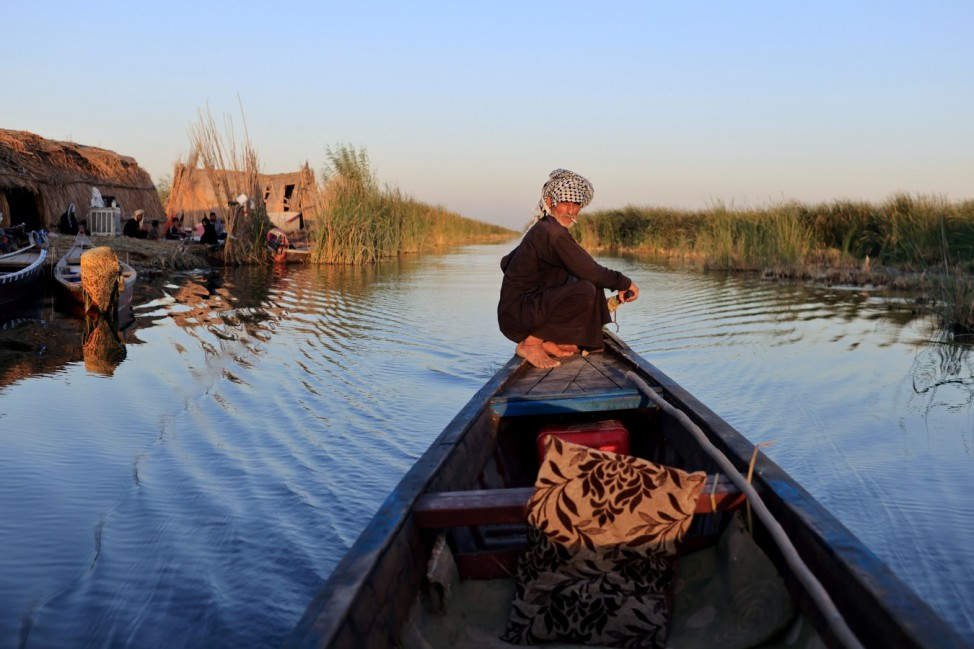The Wider Image: 'Our whole life depends on water' climate change, pollution and dams threaten Iraq's Marsh Arabs