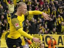 Bundesliga: Haaland schießt Dortmund auf Platz eins