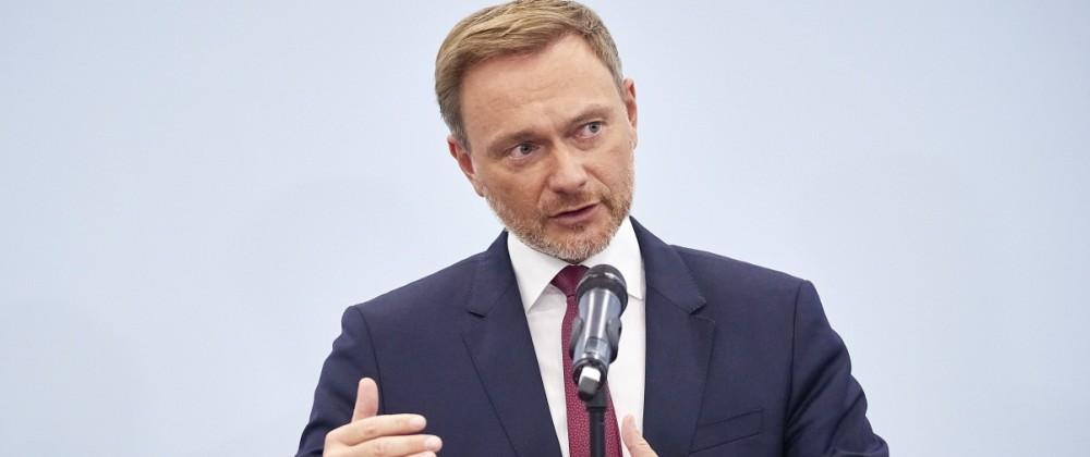 Christian Lindner - Koalitionsgespräche Deutschland, Berlin, 15.10.2021: Verkündung des Beginns von Ampel-Koalitionsges