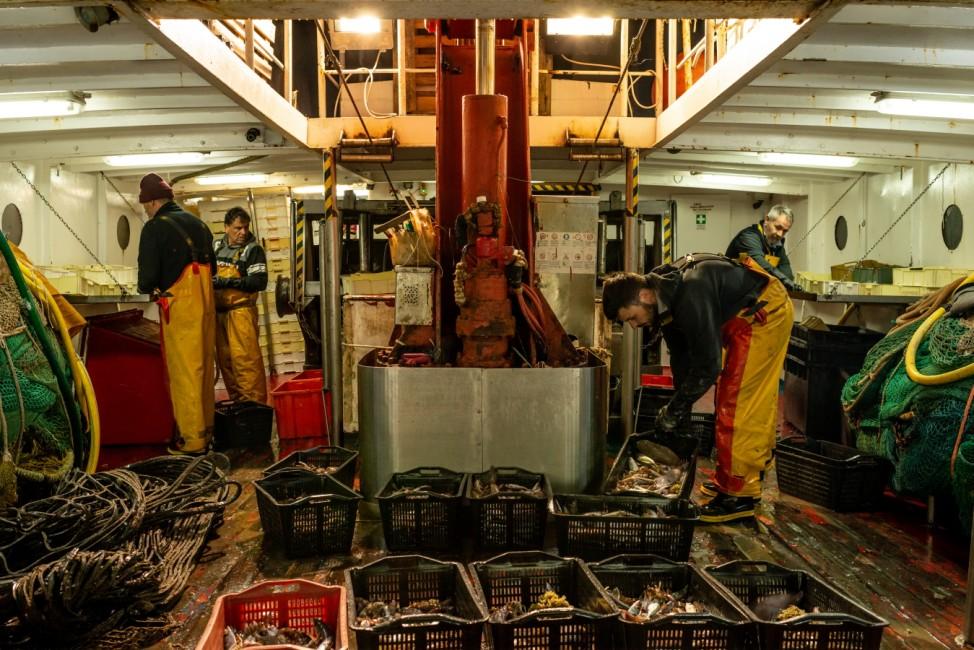 Eco-Friendly Fishing Trawler Pilots In Italy