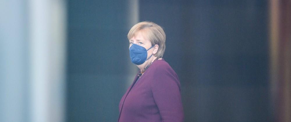Berlin GER, Berlin, 18.10.21, Mary May Simon bei Bundeskanzlerin Angela Merkel Angela Merkel - wartet, Bildtermin bei d