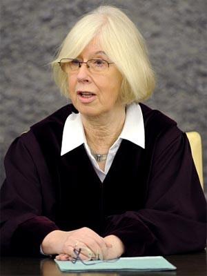 BGH-Richterin Ingeborg Tepperwien, ddp