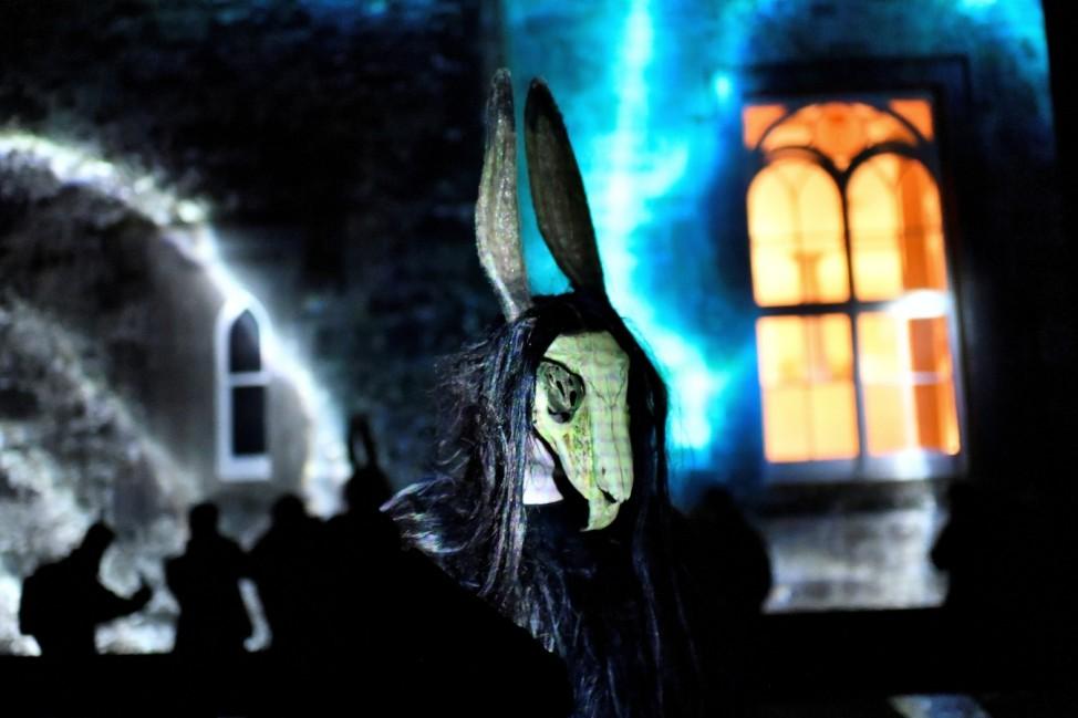 Halloween festival Puca celebrating the Celtic tradition of Samhain in Ireland