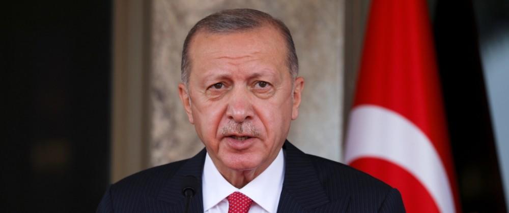 FILE PHOTO: Turkish President Tayyip Erdogan