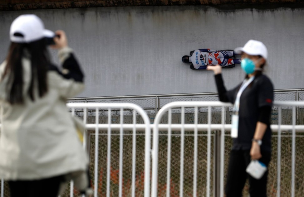 Beijing 2022 Winter Olympics Test Event - IBSF Skeleton International Sanctioned Race