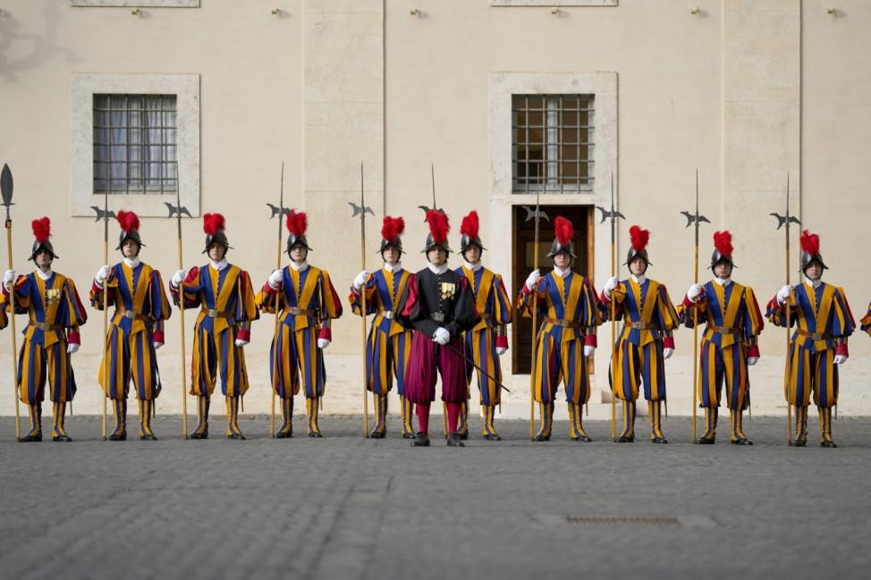 Bundespräsident Steinmeier zu besuch im Vatikan