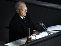 News Themen der Woche KW38 News Bilder des Tages Wolfgang Schaeuble, Bundestagspraesident, aufgenommen im Rahmen der 176