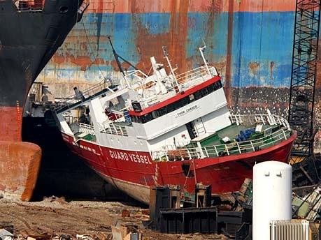Schiffsverschrottung