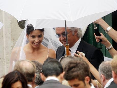 Flavio Briatore; Elisabetta Gregoraci
