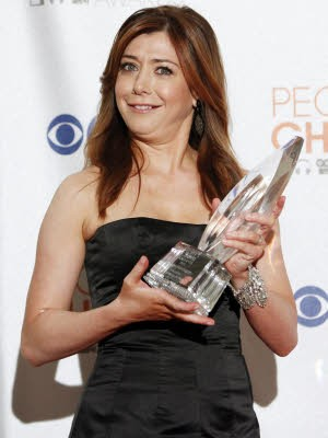 People's Choice Award, Alyson Hannigan; Foto: Reuters