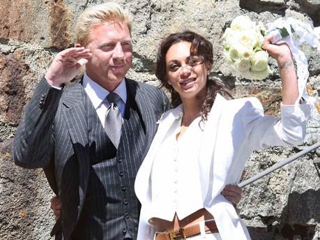 Boris Becker und Lilly Kerssenberg; Reuters