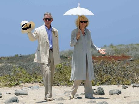 Prinz Charles und Camilla; AFP