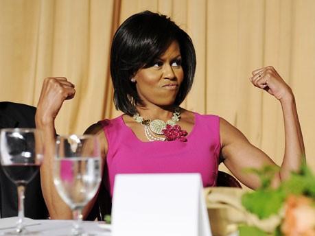 Michelle Obama; Reuters