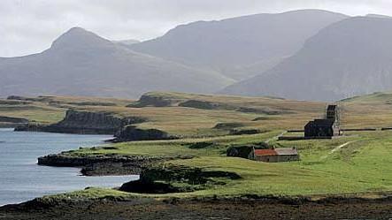Einsame Insel: Die schottische Insel Canna: Postkarten-Idylle ein Leben lang.