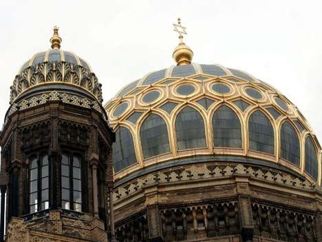 Die Neue Synagoge in der Berliner Oranienburger Straße; dpa