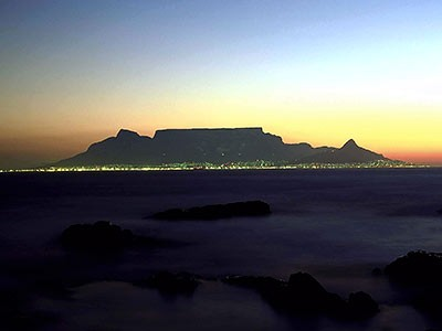 Tafelberg bei Kapstadt, ddp