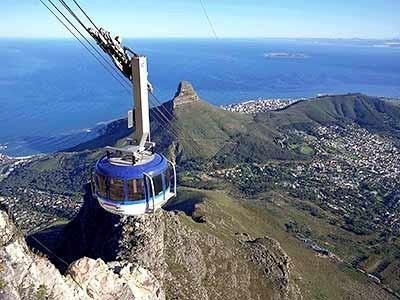 Seilbahn auf den Tafelberg, ddp