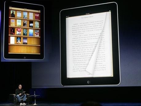Apple iPad iBook, Reuters/AP