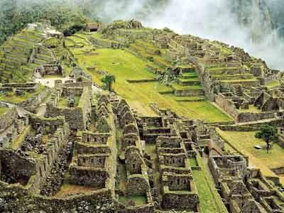 Inka-Stadt Machu Picchu, ddp