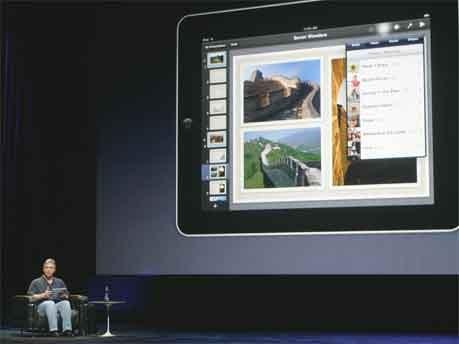 iPad Steve Jobs iWork Fotos Reuters