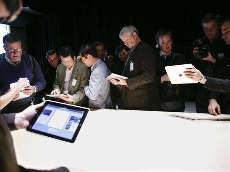 iPad Präsentation AFP