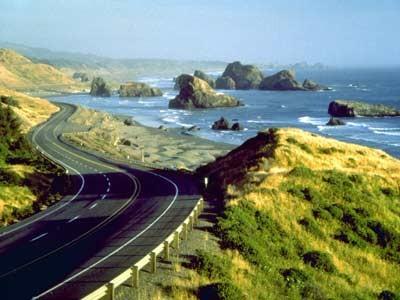 Küstenstraße in Oregon, ddp