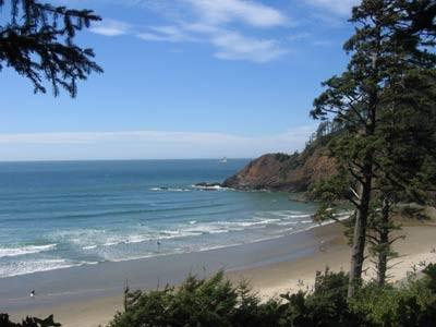 Pazifikküste in Oregon, ddp