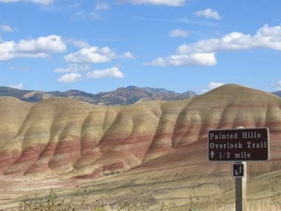 Painted Hills, ddp
