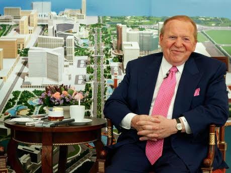 Sheldon Adelson, Reuters