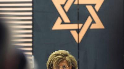 Zentralrat der Juden in Deutschland: Charlotte Knobloch bei der Eröffnung der neuen Synagoge in Osnabrück.