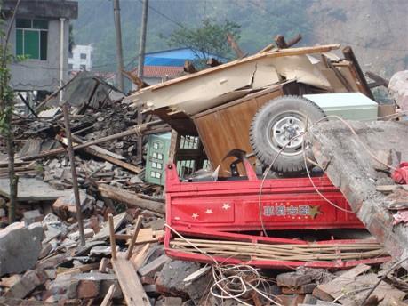 Nach Erdbeben in China