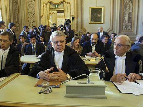 Italien Verfassungsgericht Immuntät Berlusconi AP