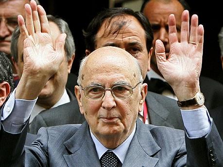 Giorgio Napolitano AFP