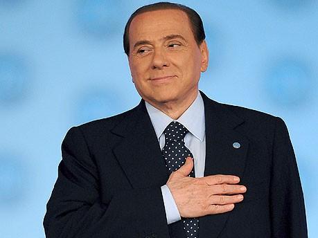 Silvio Berlusconi Fotos Villa Certosa dpa