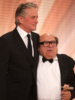Goldene Kamera 2010, Michael Douglas, Danny DeVito, Getty Images