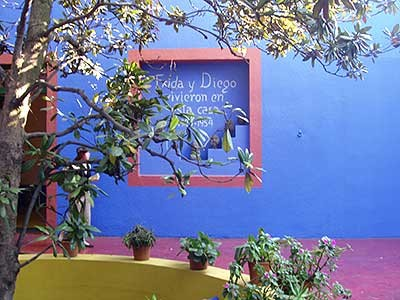 Mexico-City: Frida-Kahlo-Museum