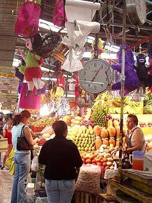 Markt in Mexico