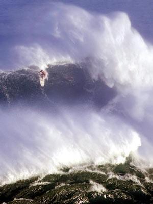 Im Rausch der Wellen: Surfen vor Hawaii, AFP