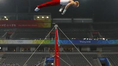 Facholympisch (8): Dieser Turner will definitiv höher hinaus.