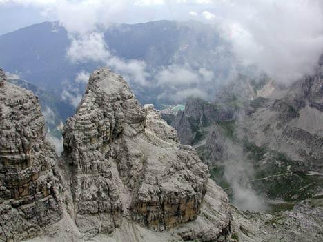 Unterwegs auf Klettersteigen in der Brenta, Alexander Rochau