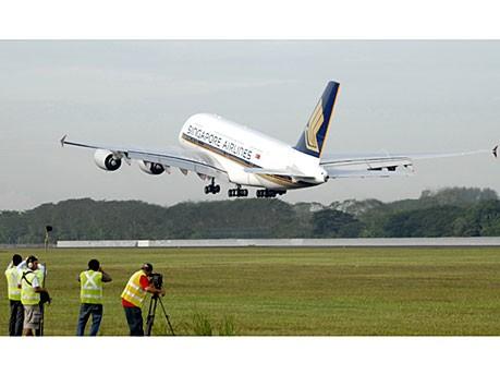 Jungfernflug Airbus A380