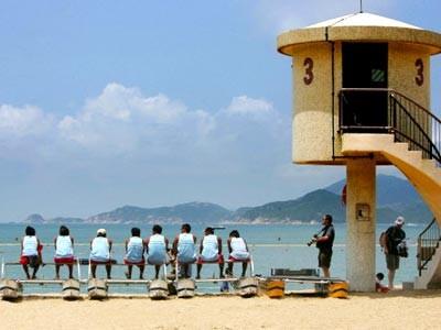 Hongkong-Strand, Reuters