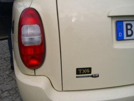 London Taxi LTI TX4 in Berlin